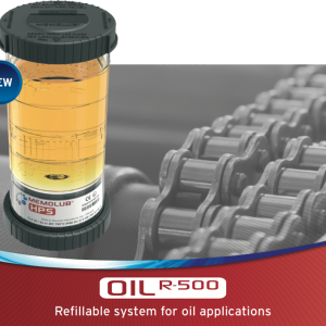 Memolube Oil r-500 Refillable system for oil applications
